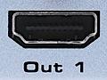 Vier HDMI-Quellen auf zwei Displays verteilen