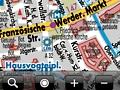 Handy-Stadtplandienst für das iPhone