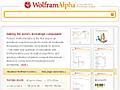 Wolfram Alpha - die Wissensmaschine ist online