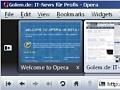 Opera 10 Beta integriert Seitenvorschau in Tableiste