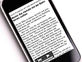 Text-Audio-Bücher für das iPhone
