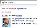 Bing indiziert ausgewählte Tweetstreams