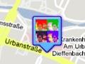 Öffentliche Standortmarkierung mit dem iPhone