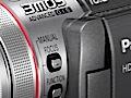 Camcorder mit 64 GByte Flashspeicher