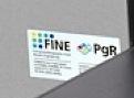 A3-Drucker besprüht Normalpapier für den Fotodruck