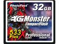 Photofast: CF-Karten bis 64 GByte und 90 MByte/s