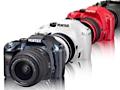 Einsteiger-Spiegelreflexkamera mit HD-Video und Liveview