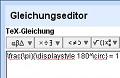 Googles Textverarbeitung erhält einen Formeleditor