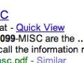 Googles Quick View zeigt PDFs layoutgetreu im Browser an