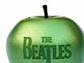 Beatles-Alben auf USB-Stick in Apfelform