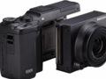 Ricoh-Kamera mit wechselbarer Objektiv-Sensor-Kombination