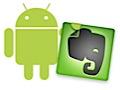 Notizzettelverwaltung Evernote für Android ist fertig