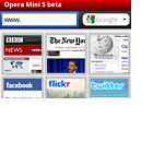 Opera Mini 5 nativ für Windows Mobile