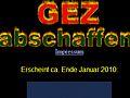 GEZ-kritisches Blog zur Löschung von Inhalten gezwungen