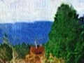 Digitaler Bilderrahmen erzeugt Gemälde