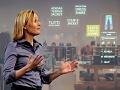 Intel-Zukunft: Werbung, die dem Betrachter hinterherguckt