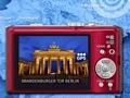 Kamera mit HD-Videoaufnahme, GPS und 12fach-Zoom
