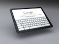 Tablet-Konzept mit Chromium OS