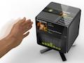 Gesture-Cube-Konzept wird mit Gesten kontrolliert