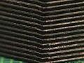 128 Flash-Chips gestapelt: 1 TByte in Briefmarkengröße