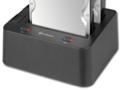 Dockingstation für zwei Sata-Festplatten mit USB 3.0