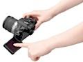 Wechselobjektiv-Kamera mit Touchscreen