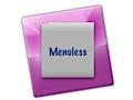 Menuless spart Platz auf dem Mac-Bildschirm
