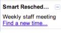 Smart Rescheduler findet freie Termine im Google-Kalender