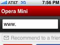 Opera Mini für das iPhone im App Store eingereicht