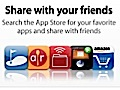 Apples App Store auf Facebook