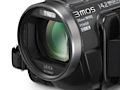 HD-Camcorder von Panasonic ohne elektronischen Sucher