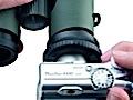 Swarovski mit Fernglas-Adapter für Kompaktkameras