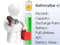 Batterybar für Windows: Akkuanzeige mit Mehrwert