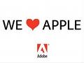 """Adobe: """"Wir lieben Apple"""""""