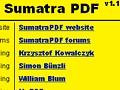 Sumatra PDF 1.1: Schneller PDF-Reader für Windows mit Verbesserungen