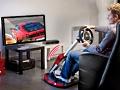 Thrustmaster: Der Ferrari vor dem Fernseher