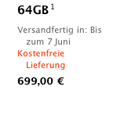Apple: Auch 64-GByte-iPad wird günstiger