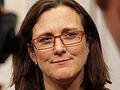 Überwachungsbefürworterin Cecilia Malmström, EU-Innenkommissarin