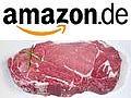 Lebensmittelverkauf: Steaks und Bier von Amazon Deutschland