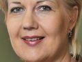 Finnlands Kommunikationsministerin Suvi Lindén