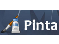 Pinta: Malprogramm in Version 0.4 mit Docking