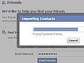 Facebooks Friendfinder in Aktion