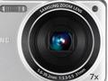 Samsung: 7fach-Zoomkamera mit HD-Filmfunktion im Metallgehäuse