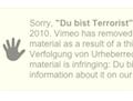 Vimeo-Video-Löschung: Die GVU gibt sich unschuldig