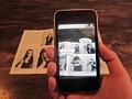 Augmented Reality: Sandra Maischberger lächelt nur ins Smartphone
