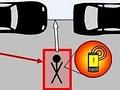 Unfallvermeidung: Mobiltelefon warnt vor Fußgängern
