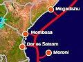 EASSy: 3,84 TBit/s für Ostafrika