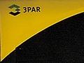 Firmenlogo auf einem 3Par-Server