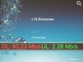 O2s LTE-Testgerät an einem Notebook in München