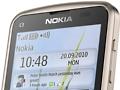Nokia C3 Touch and Type: Handy mit Touchscreen, Zahlentastatur und WLAN-n